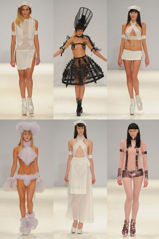 """Người mẫu """"nude""""... 90% trên sàn runway của LFW 11"""