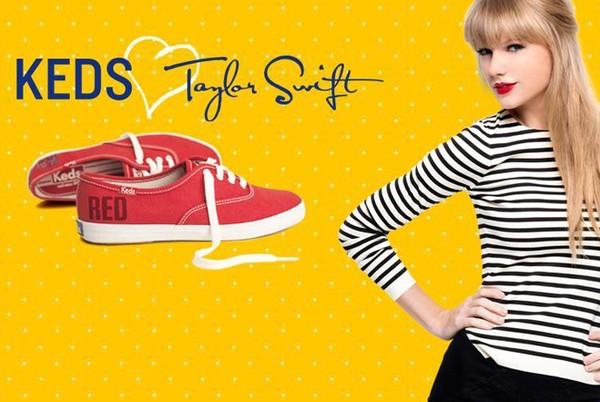 Bất ngờ với BST giày đầu tay cực bắt mắt của Taylor Swift 1