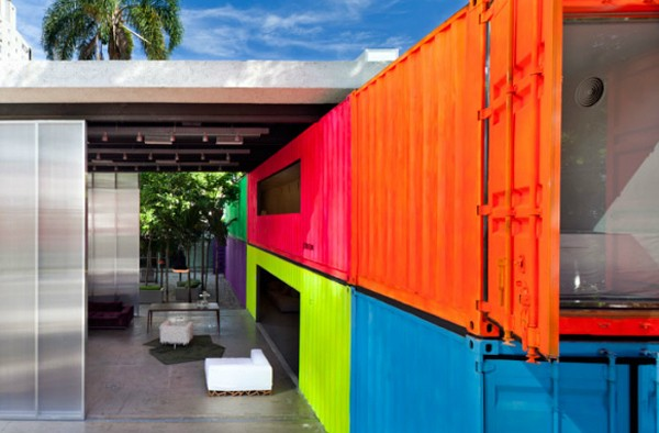 Loat nhà siêu đẹp làm từ container chở hàng 17