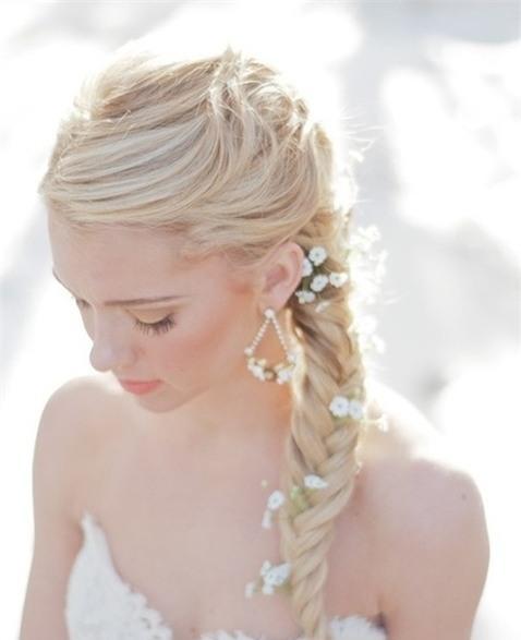 Những biến tấu tóc tết ngọt ngào cho cô dâu mới 1