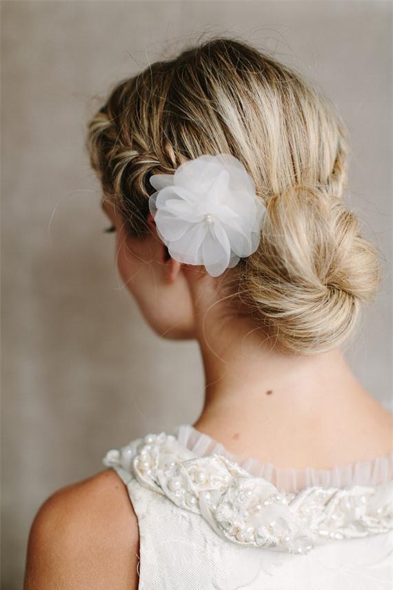 Những biến tấu tóc tết ngọt ngào cho cô dâu mới 5