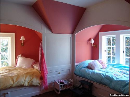 phòng cho bé, phòng riêng của bé, phòng bé yêu