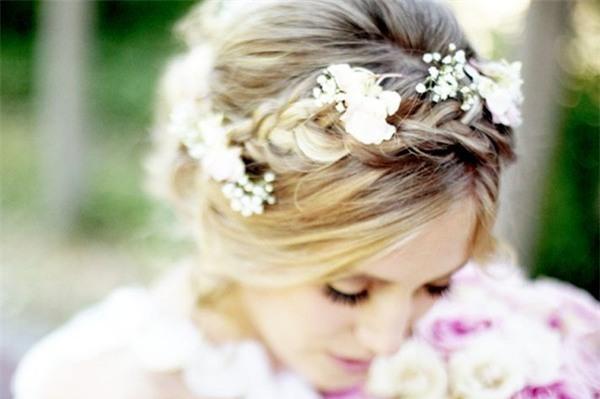 Những biến tấu tóc tết ngọt ngào cho cô dâu mới 8