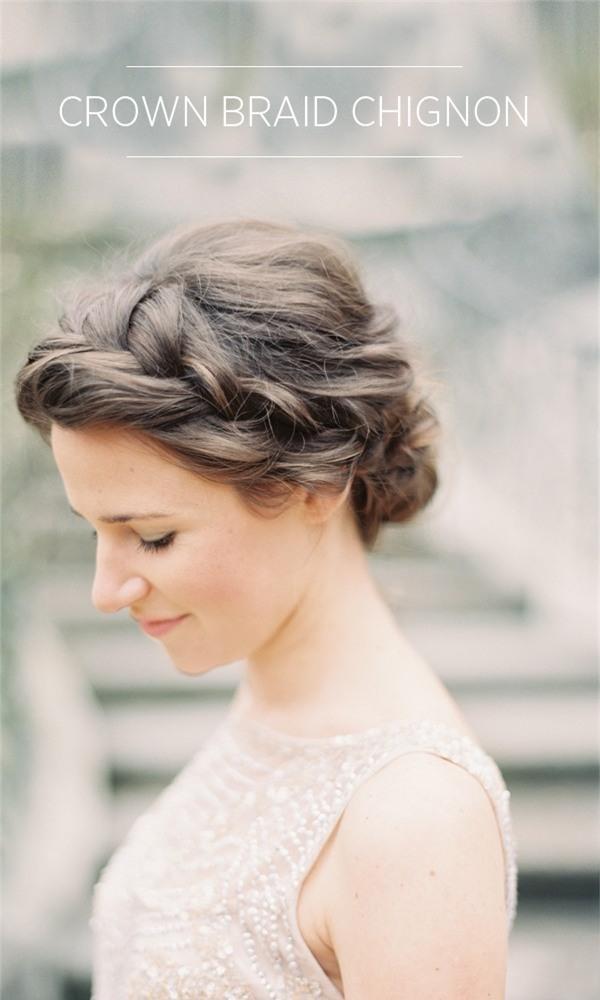Những biến tấu tóc tết ngọt ngào cho cô dâu mới 7